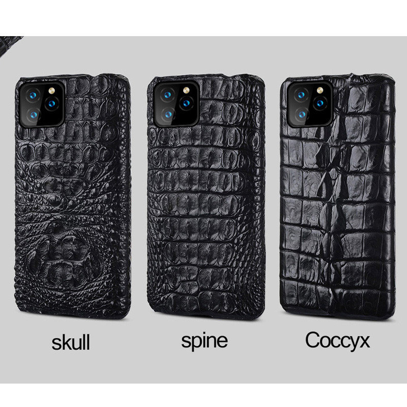 Genuine Alligator Crocodile iPhone 12 Pro Max Case