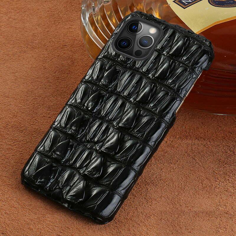 Genuine Crocodile Leather Case for iPhone 6 Plus